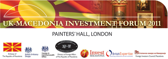 UK-Macedonia Investment Forum, October 2011