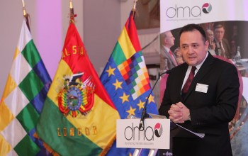 Hon Rene Gonzalo Orellana Halkyer, Minister of Development Planning