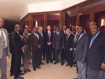 Cameroon Trade Mission with UK Ambassador Brian Folley