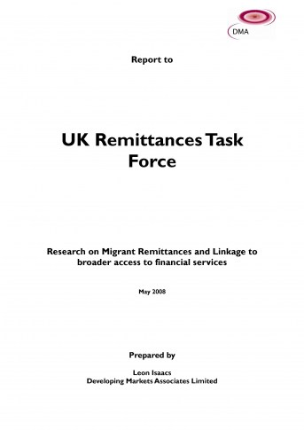 UK Remittances Task Force